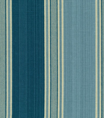 "Waverly Multi-Purpose Decor Fabric 54""-Spotswood Stripe Porcelain"