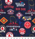 Boston Red Sox Cotton Fabric-World Series Digital