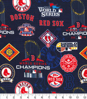 Boston Red Sox Cotton Fabric-World Series Digital, , hi-res