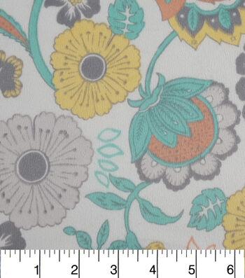 """Soft N Comfy Fabric 57""""-Pretty Floral"""