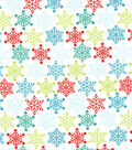 Holiday Inspirations Christmas Fabric Quilters Christmas Whimsical Flakes