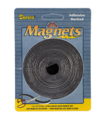 """Adhesive Magnetic Tape-1""""X120"""""""