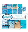 Reminisce Swim Team 12\u0027\u0027x12\u0027\u0027 Collection Kit