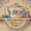 Dimensions Gold Counted Cross Stitch Kit Petite Treasure Friend Teapot