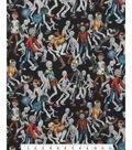 Halloween Cotton Fabric -Zombie High