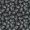 Keepsake Calico Cotton Fabric-Black Rose Spray
