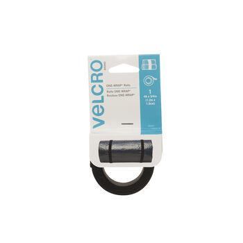 "VELCRO Brand ONE-WRAP Strap 3/4""x48"" Black"