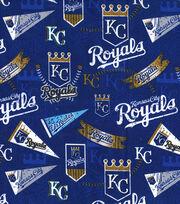 "Kansas City Royals Cotton Fabric 58""-Vintage, , hi-res"