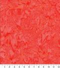 Cotton Fabric -Orange Tonal Batik