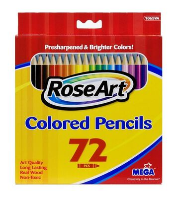 Rose Art 72 Count Colored Pencils
