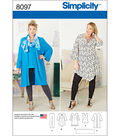 Simplicity Patterns US8097Ff PlUS Sizes-18W-20W-22W-24W