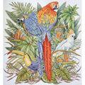 16x17 14ct-birds Of Paradise