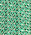Snuggle Flannel Fabric-I Heart You S\u0027more