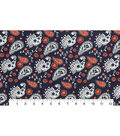 Quilter\u0027s Showcase Fabric -Fusion Paisley on Navy