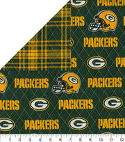 Green Bay Packers Double Faced Quilt Fabric, , hi-res