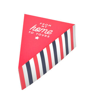 Land of the Free Baking Pie Slice Boxes-Stripes & From My Home to Yours