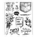 Viva Decor 10 pk Clear Stamps-Grunge