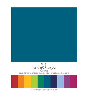 Park Lane 100 pk 8.5''x11'' Value Papers-Jewels