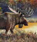 Novelty Cotton Fabric-Deer, Elk & Moose