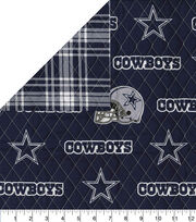 Dallas Cowboys Double Faced Quilt Fabric, , hi-res