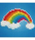 Diamond Embroidery Facet Art Kit 6\u0022X6\u0022-Ever Living Rainbow