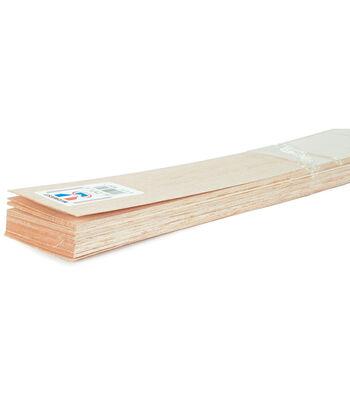 """Balsa Wood Sheet 36""""-3/16""""X3"""""""