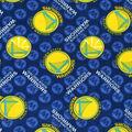 Golden State Warriors Fleece Fabric -Logo Toss