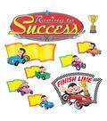 Monkey Mischief Racing to Success Bulletin Board Set, 2 Sets