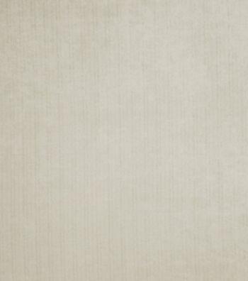 """Eaton Square Outdoor Upholstery Fabric 58""""-Velvet / Light Grey"""