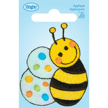 Bee with Dots Iron On