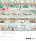 Kaisercraft Paper Pad 6.5\u0022X6.5\u0022-Island Escape