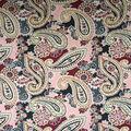 Apparel Knit Fabric-Paisley