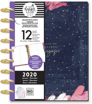 The Happy Planner Girl Deluxe Classic 2020 Planner-Stargazer Dreaming