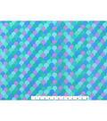 Blizzard Fleece Fabric 59\u0022-Mermaid Scales Blue
