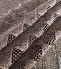 Downtown Collective Geo Diamond Lace Fabric 47\u0022-Solids