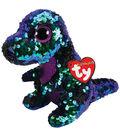 Ty Inc. Flippables Regular Sequin Crunch Dinosaur