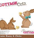 CottageCutz Die-Easter Bunny & Chicks .05\u0022 To 2.2\u0022