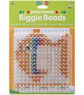 Perler Biggie Bead Pegboards 2/Pkg-Clear 5.75\u0022x5.75\u0022