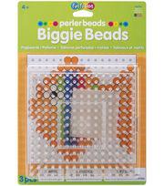 "Perler Biggie Bead Pegboards 2/Pkg-Clear 5.75""x5.75"", , hi-res"