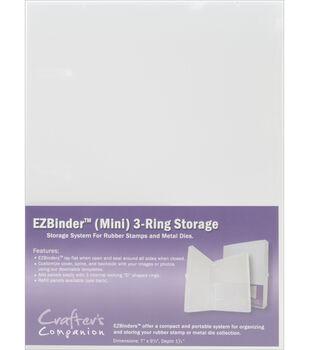 EZBinder Mini 3-Ring Storage-Clear