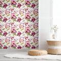 York Wallcoverings Wallpaper-Red Iris