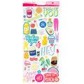 American Crafts Damask Love 6\u0022x12\u0022 Sticker Sheet
