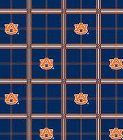 "Auburn University Tigers Flannel Fabric 42""-Plaid, , hi-res"