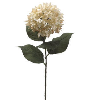 "Bloom Room 28.5"" Hydrangea Stem-Beige"