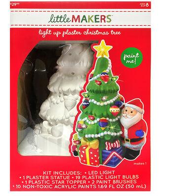 Little Maker's Plaster Kit-Light Up Tree