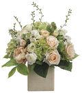 Bloom Room Luxe 19\u0027\u0027 Peony, Rose & Hydrangea In Ceramic-Pink