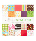 DCWV 12\u0022x12\u0022 Cardstock Stack 10