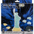 3-D Deluxe Crystal Puzzle-Statue Of Liberty