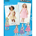 Simplicity Pattern 2265AA 1/2-1-2-3 -Simplicity Toddlers