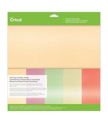 Cricut 12''x12'' Pearl Paper Sampler-Pastels